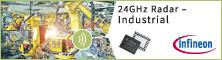 Infineon産業用24GHzレーダ