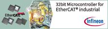 InfineonEtherCAT対応産業用32bitマイクロコントローラ