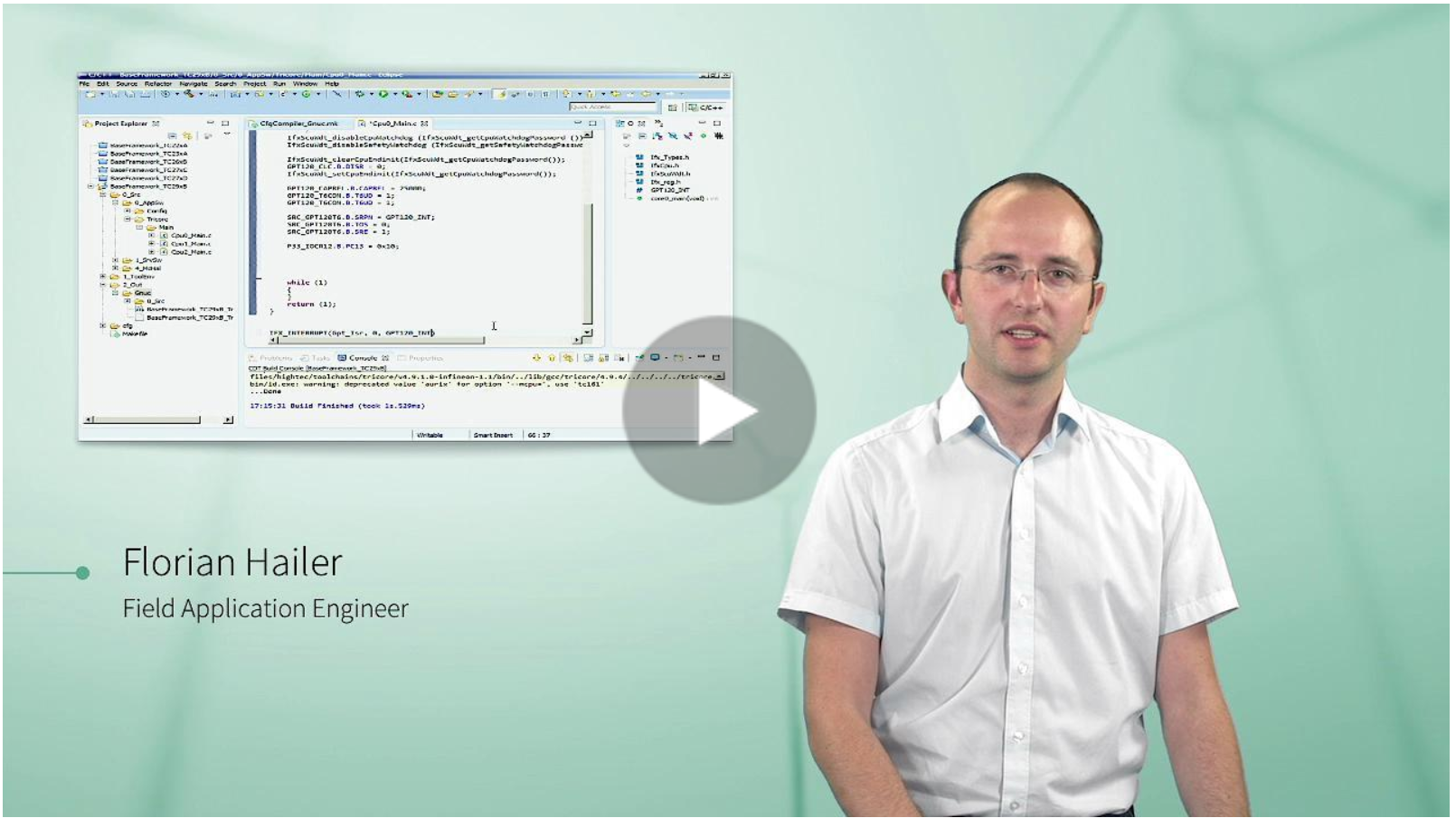 AURIX Starter KIT Tools and Programming