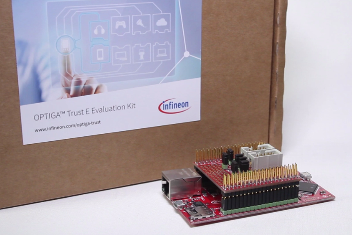 Get started with IoT security and win an OPTIGA™ Trust E Evaluation kit