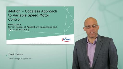iMOTION™ – Codeless Approach to Variable Speed Motor Control