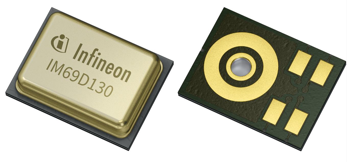 インフィニオン社製高性能MEMSマイクソリューション IM69D130