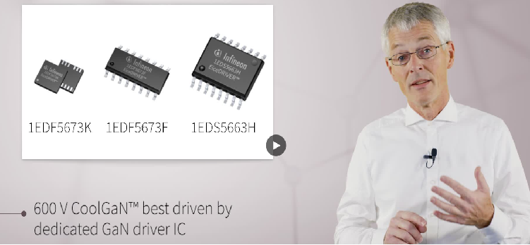 600V CoolGaN best driven by dedicated GaN Driver IC