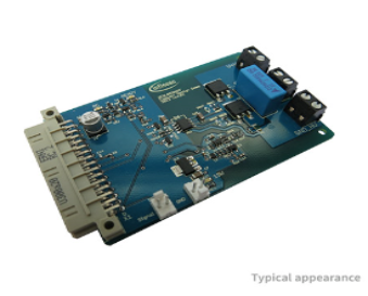 Evaluation Board for 2EDL05I06PF - Optimized 600V half bridge gate driver IC with LS-SOI technology to control power devices like IGBTs.