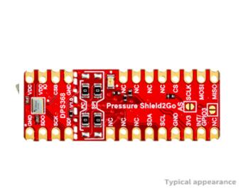 PRESSURE SENSOR DPS368  Shield2Go equipped with XENSIV™ barometric pressure sensor